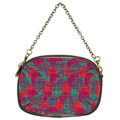 Decorative abstract art Chain Purses (One Side)
