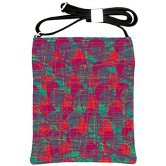 Decorative abstract art Shoulder Sling Bags
