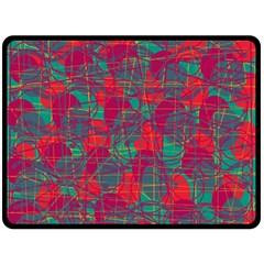 Decorative abstract art Fleece Blanket (Large)