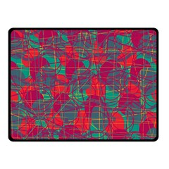 Decorative abstract art Fleece Blanket (Small)