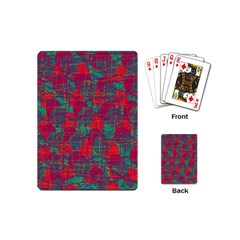 Decorative abstract art Playing Cards (Mini)