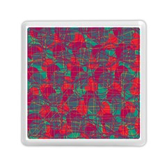 Decorative abstract art Memory Card Reader (Square)