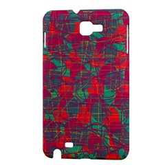 Decorative abstract art Samsung Galaxy Note 1 Hardshell Case