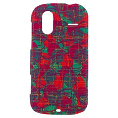 Decorative abstract art HTC Amaze 4G Hardshell Case