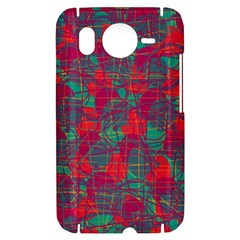 Decorative abstract art HTC Desire HD Hardshell Case