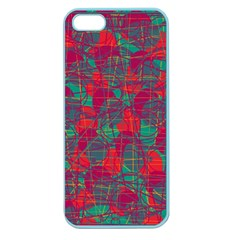 Decorative abstract art Apple Seamless iPhone 5 Case (Color)