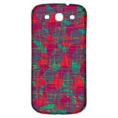 Decorative abstract art Samsung Galaxy S3 S III Classic Hardshell Back Case