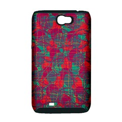 Decorative abstract art Samsung Galaxy Note 2 Hardshell Case (PC+Silicone)
