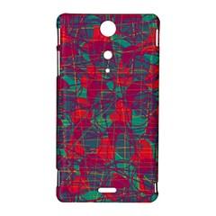 Decorative abstract art Sony Xperia TX