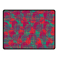 Decorative abstract art Double Sided Fleece Blanket (Small)