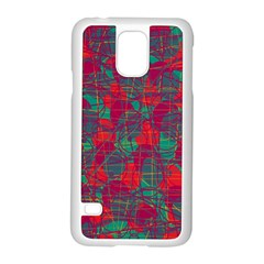 Decorative abstract art Samsung Galaxy S5 Case (White)