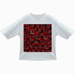 Red abstract decor Infant/Toddler T-Shirts