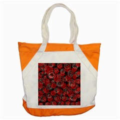Red abstract decor Accent Tote Bag