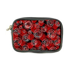 Red abstract decor Coin Purse