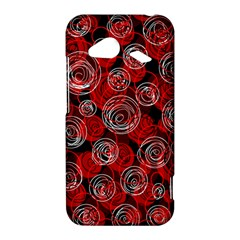 Red abstract decor HTC Droid Incredible 4G LTE Hardshell Case
