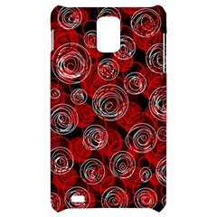Red abstract decor Samsung Infuse 4G Hardshell Case