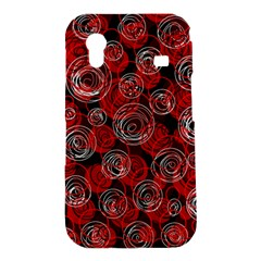Red abstract decor Samsung Galaxy Ace S5830 Hardshell Case