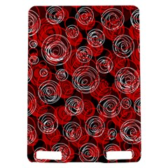 Red abstract decor Kindle Touch 3G