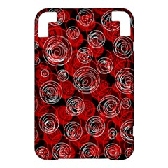 Red abstract decor Kindle 3 Keyboard 3G
