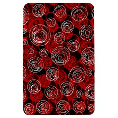 Red abstract decor Kindle Fire (1st Gen) Hardshell Case