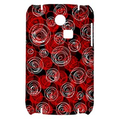 Red abstract decor Samsung S3350 Hardshell Case