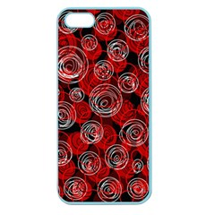 Red abstract decor Apple Seamless iPhone 5 Case (Color)
