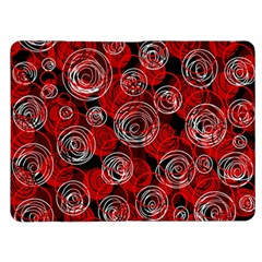 Red abstract decor Kindle Fire (1st Gen) Flip Case