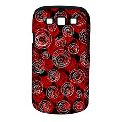 Red abstract decor Samsung Galaxy S III Classic Hardshell Case (PC+Silicone)