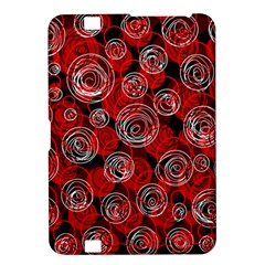 Red abstract decor Kindle Fire HD 8.9