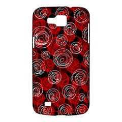 Red abstract decor Samsung Galaxy Premier I9260 Hardshell Case