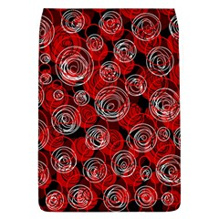 Red abstract decor Flap Covers (L)