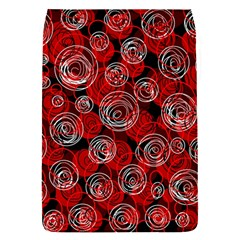 Red abstract decor Flap Covers (S)