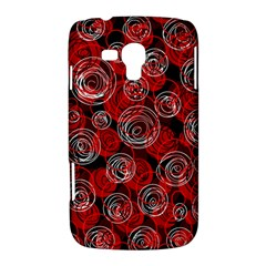 Red abstract decor Samsung Galaxy Duos I8262 Hardshell Case