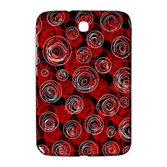 Red abstract decor Samsung Galaxy Note 8.0 N5100 Hardshell Case