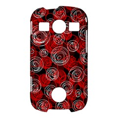 Red abstract decor Samsung Galaxy S7710 Xcover 2 Hardshell Case
