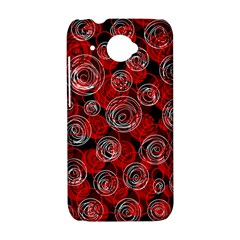 Red abstract decor HTC Desire 601 Hardshell Case