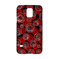 Red abstract decor Samsung Galaxy S5 Hardshell Case