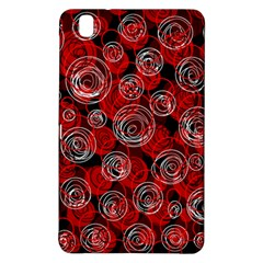 Red abstract decor Samsung Galaxy Tab Pro 8.4 Hardshell Case