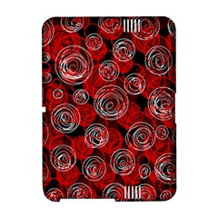Red abstract decor Amazon Kindle Fire (2012) Hardshell Case