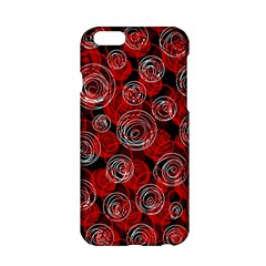 Red abstract decor Apple iPhone 6/6S Hardshell Case