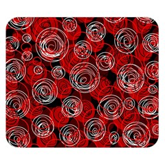 Red abstract decor Double Sided Flano Blanket (Small)