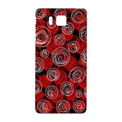 Red abstract decor Samsung Galaxy Alpha Hardshell Back Case