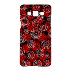 Red abstract decor Samsung Galaxy A5 Hardshell Case