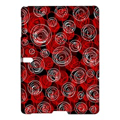 Red abstract decor Samsung Galaxy Tab S (10.5 ) Hardshell Case