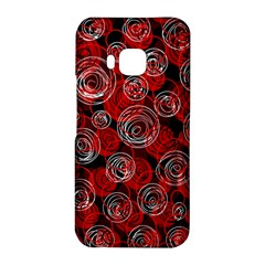 Red abstract decor HTC One M9 Hardshell Case