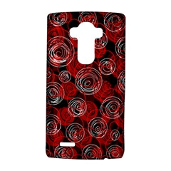 Red abstract decor LG G4 Hardshell Case
