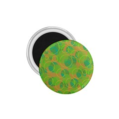 Green decorative art 1.75  Magnets