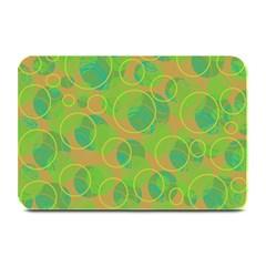 Green decorative art Plate Mats