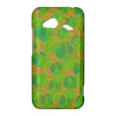 Green decorative art HTC Droid Incredible 4G LTE Hardshell Case