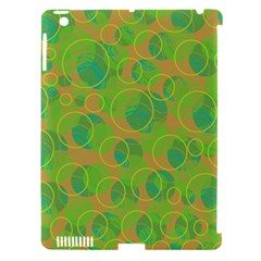Green decorative art Apple iPad 3/4 Hardshell Case (Compatible with Smart Cover)